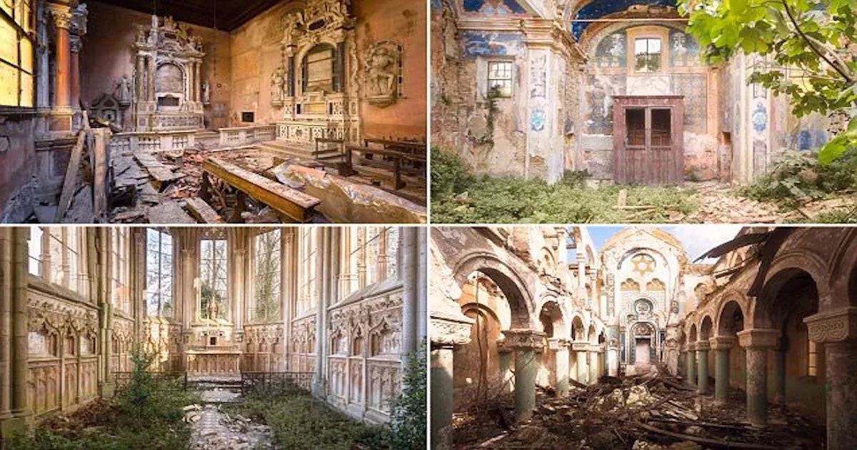 Abandoned churches! See pictures of old and forgotten houses of God (photos)