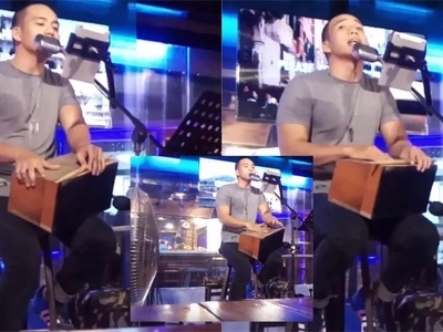 Handsome Pinoy performer went viral after impressive performance. Iba talaga pag pogi eh