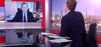 A live interview with the BBC gone wrong when 2 kids showed up. See the epic moment