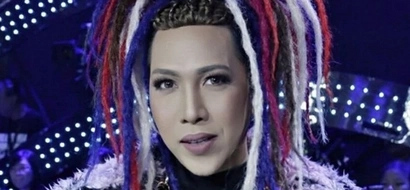 Push mo yan 'teh! Vice Ganda does it again with another crazy hairdo