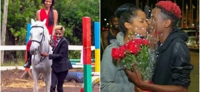 Eric Omondi's Italian girlfriend ditches her engagement ring ,is everything okay?