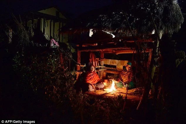 These women were BANISHED from home, forced to sleep in cold because they are menstruating (photos, video)