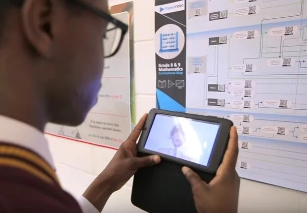 This initiative is letting students access MATH & SCIENCE lessons through their PHONES