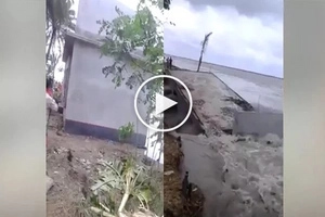 This house was caught on video when THIS disaster happened!