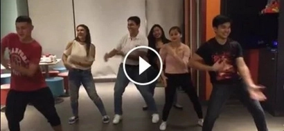 Cool dad Tirso Cruz III grooves to #FettyWap with fam