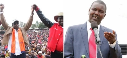 Powerful Jubilee Politician pulls a shocker as he endorses ODM candidate