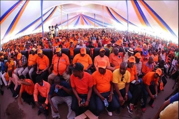 Raila Odinga makes awaited Mombasa speech