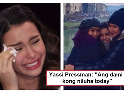 Nagkatagpo rin sa wakas! Yassi Pressman gets emotional after meeting her sister in Italy for the 1st time in her life