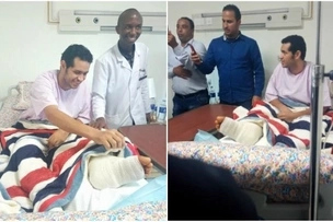 Joy as Coptic Hospital performs first ever foot re-attachment in Kenya to accident victim