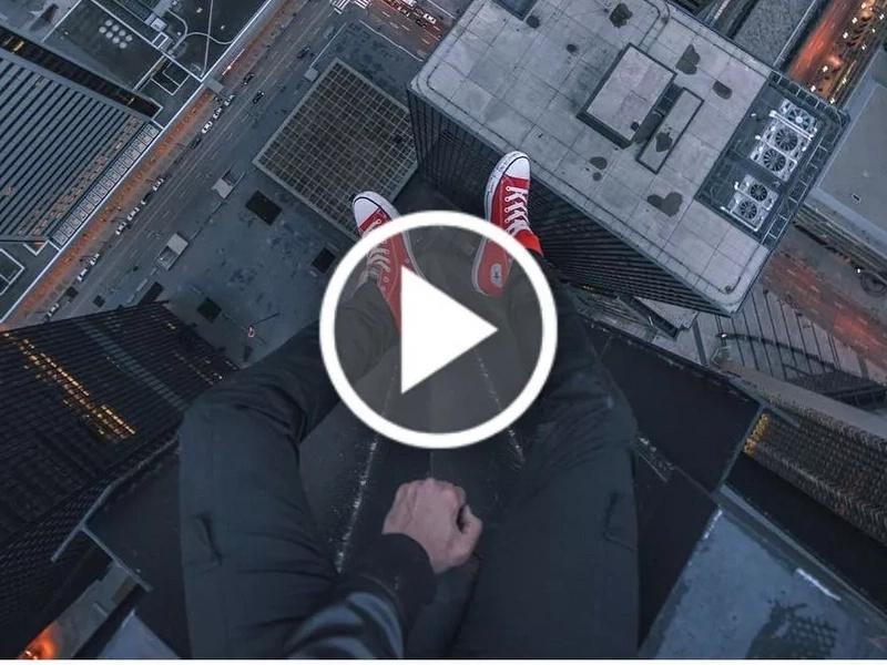 Rooftopper: el arte de hacer acrobacias en edificios de gran altura