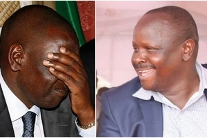Ruto slaps DP on the face as another Jubilee MP joins his party