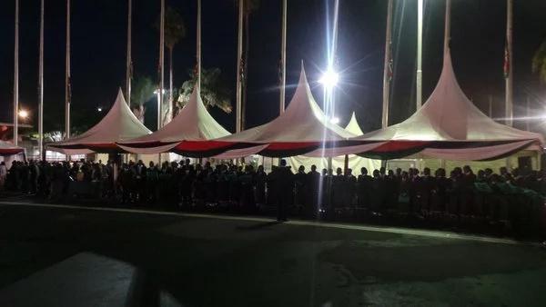 Uhuru Kenyatta at JKIA as body of former First Lady arrives