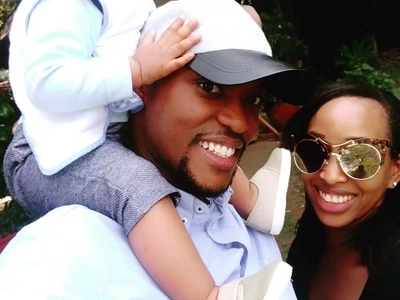 After firing the house-help who nearly harmed her son, Janet Mbugua shows off her son's face