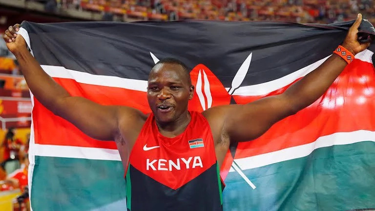 Julius Yego speaks after surviving horrible road accident