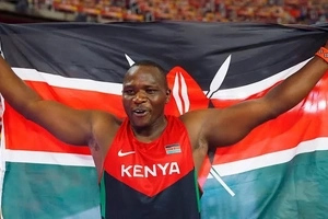 First photos of Julius Yego emerge after he survived a horrible road accident