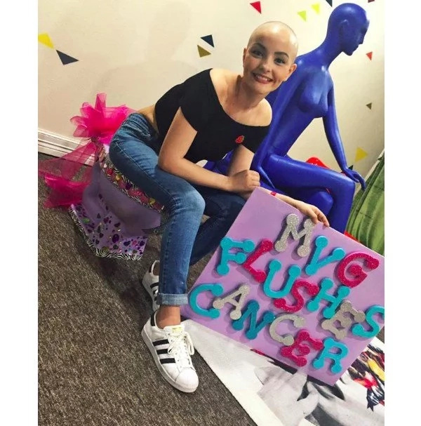 This teenager with cancer had a perfect response to losing her hair: 'Cancer doesn't stop me from being a princess'