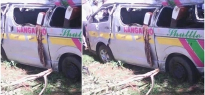 Just in: DEADLY accident in Kitale