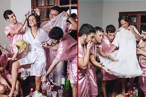 "Bride-To-Be Without Any Closest Girl Friends, Had Own Brothers Proxy As Her ""Bridesmaids"""