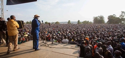 This is our last bullet, Raila Odinga