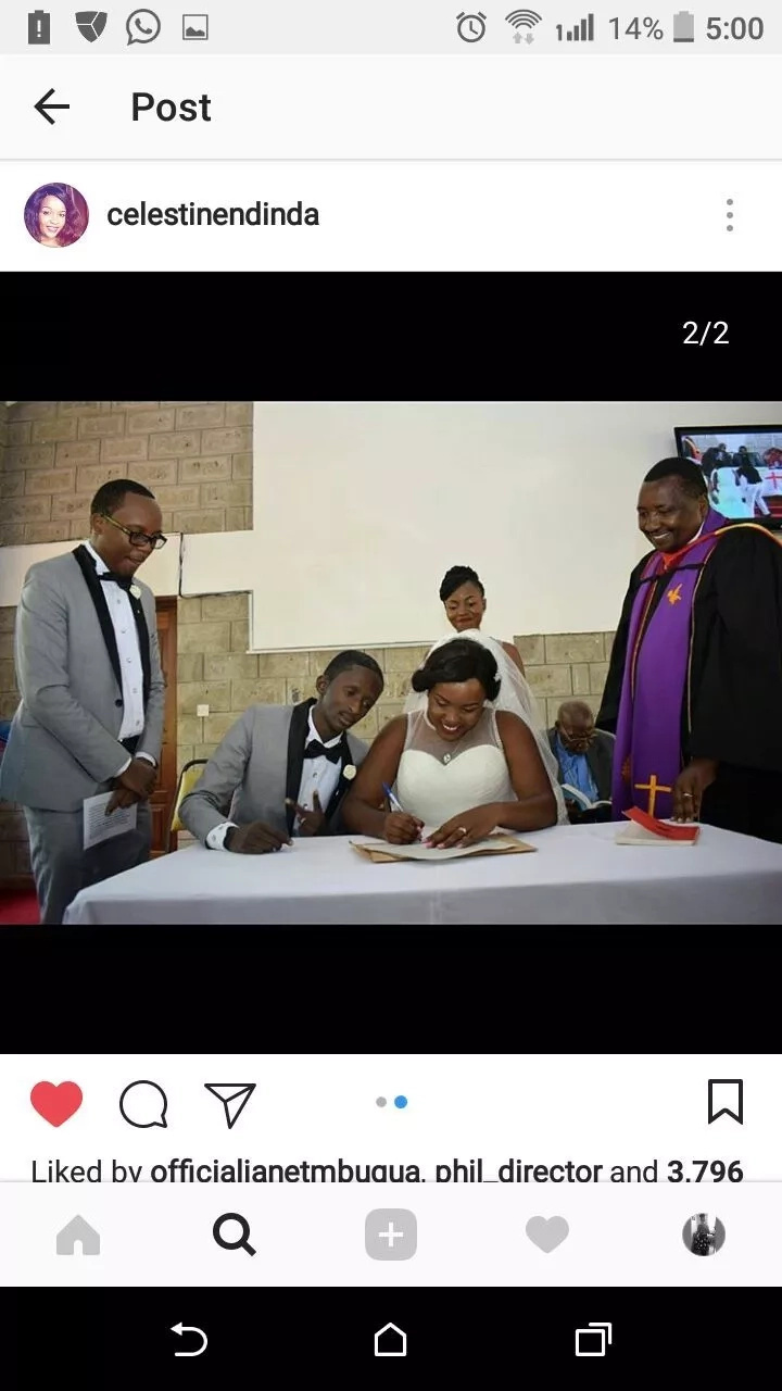 6 extremely romantic photos of Comedian Njugush and heavily pregnant wife celebrate wedding anniversary we bet you will love