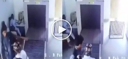 He was asked to have his bag inspected, what he did was HILARIOUS!