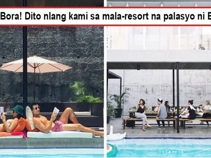 Sobrang astig di na kailangang mag-Bora! Jericho Rosales' luxurious and stunning resort-inspired house is an oasis in the midst of a busy metropolis