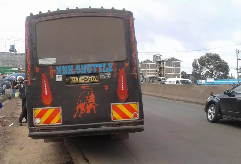 These Nairobi matatu and its crew have been robbing passengers (photos)