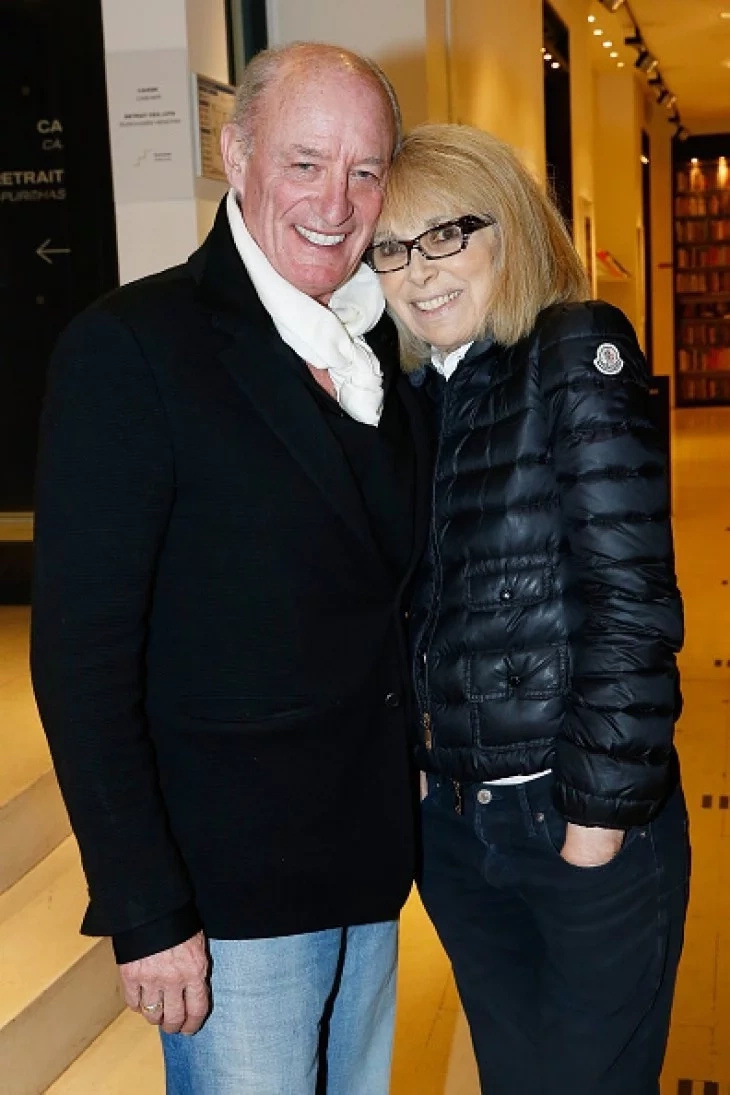 Pascal Desprez et Mireille Darc. | Getty Images