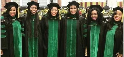 Role models! Pride as 6 black women empower each other to graduate as doctors (photo)
