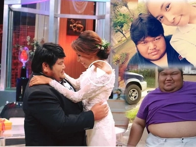 Inspiring Thai couple shows love knows no size