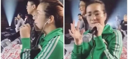 Face palm moment! Angeline Quinto thought her mic was not working during rehearsals but it was actually turned upside down