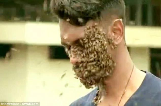 His father is an award-winning beekeeper in India