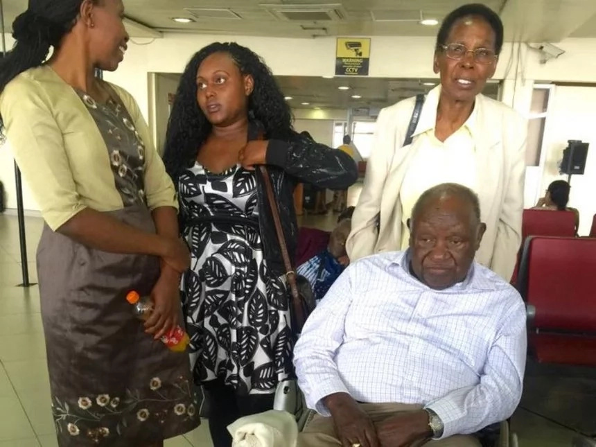 Kenneth Matiba, passengers stranded after KQ cancelled 20 flights