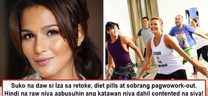 Suko na daw siya sa retoke! Iza Calzado swears not to abuse her body anymore after bravely admitting undergoing cosmetic surgeries and crash diets