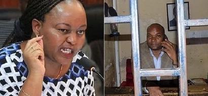 Mwandani wa Ann Waiguru akamatwa akamatwa na polisi kwa shutuma za kushangaza