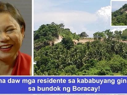 Di kuntento sa P3.6B net worth? Kumpanya ni Sen. Cynthia Villar diumano sa likod ng pag-level ng bundok sa Boracay na ikinagalit ng mga residente