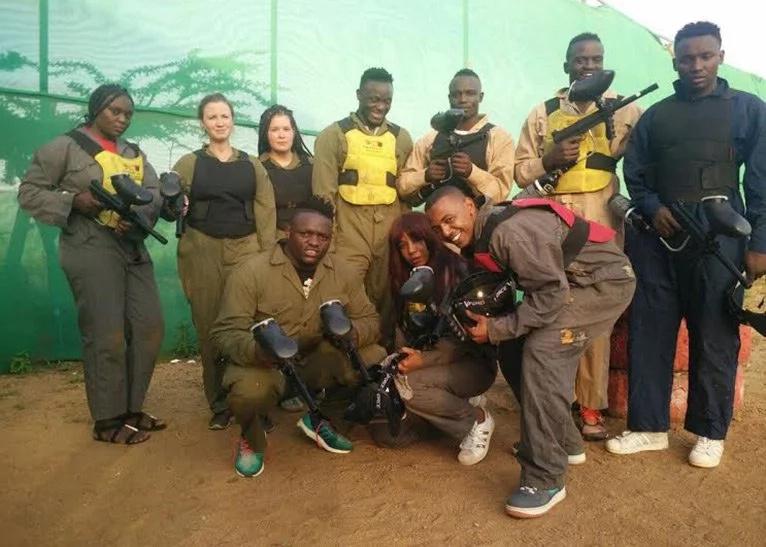 Victor Wanyama and Mariga visit Chaka Ranch Leisure Park