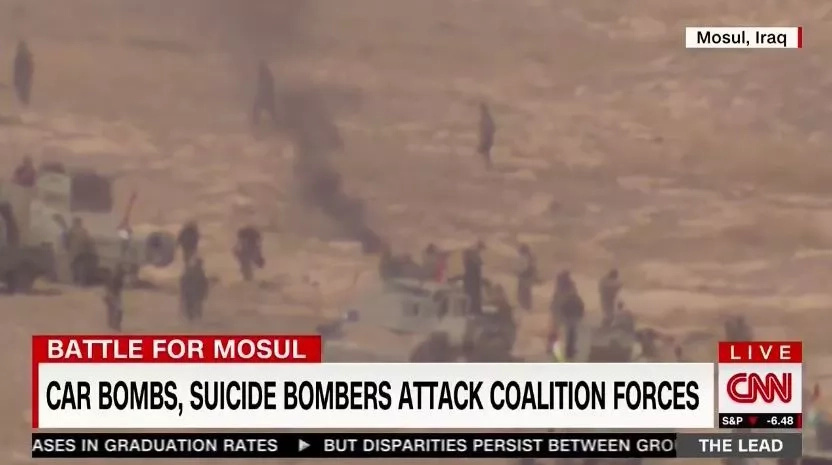 CNN Shows Suicide Bomber Blowing Himself Up on Live Television