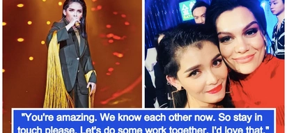 Gusto raw makatrabaho ni Jessie J! KZ Tandingan eliminated from 'Singer 2018', Jessie J offers collaboration