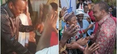 Kenyans believe President Uhuru always wears these cloths when going to meet poor people
