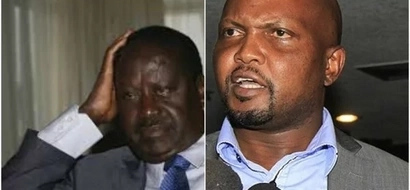 God told me he will rest Raila in peace- Moses Kuria