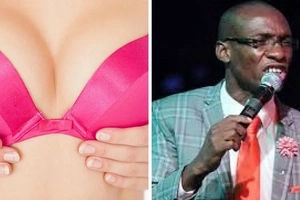 Wife of popular comedian in trouble after exposing her SUCCULENT boobs (photos)