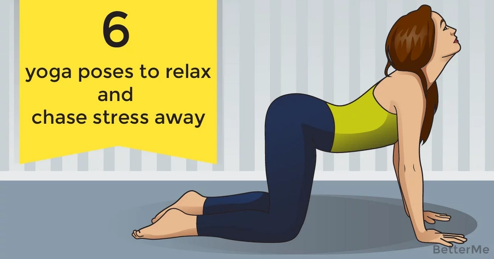 6 yoga poses to relax and chase stress away