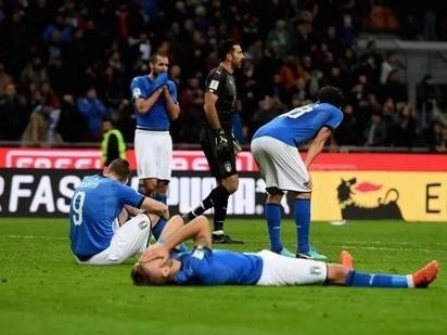 Italia yakataa kufuzu kwa Kombe la Dunia na kukasirisha mashabiki