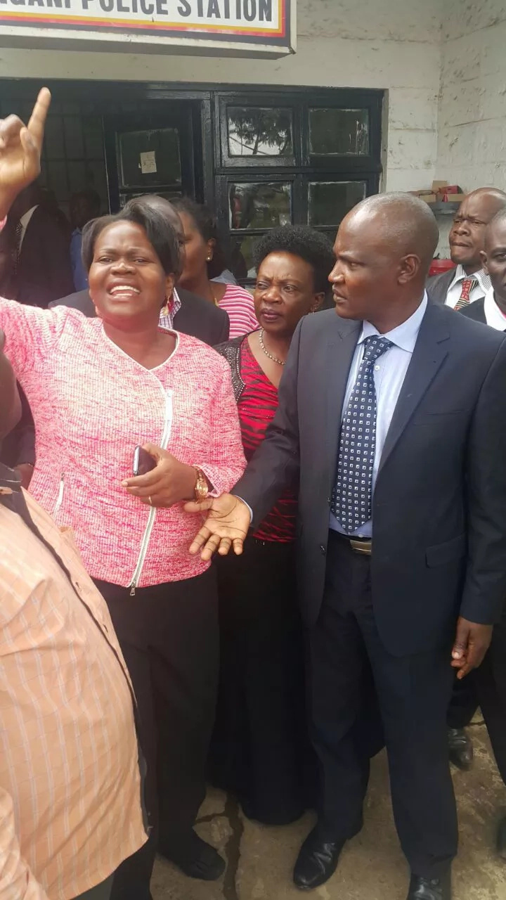 Charity Ngilu joins CORD MPs to demand release of leaders