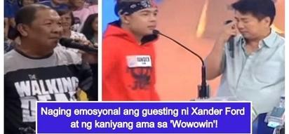 Nakakatawa pero nakakaiyak din! Xander Ford's emotional appearance on 'Wowowin' with his loving father