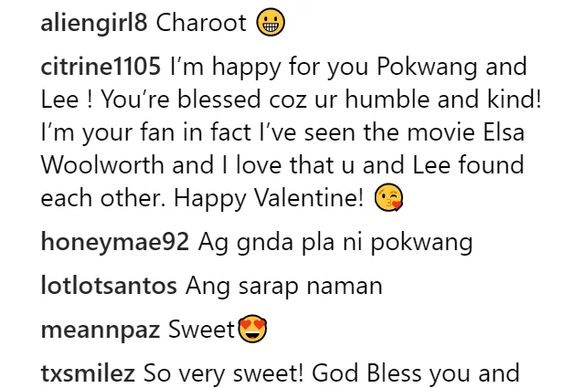 Haba ng hair ni mamang! Lee O'brian's sweet Valentine's day message for Pokwang elicited 'kilig' vibes among the netizens