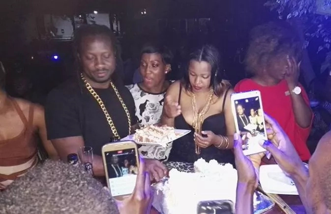 Bebe Cool's wife hires him a stripper for his 39th birthday bash