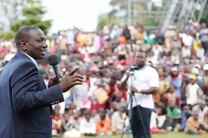 Kalonzo is a watermelon, Wetangula has domestic problems and Raila? - Ruto goes HAM on CORD leaders