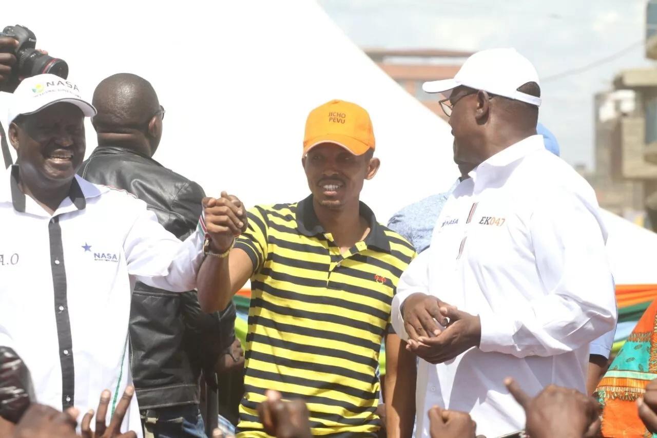 Raila endorses Moha Jicho Pevu